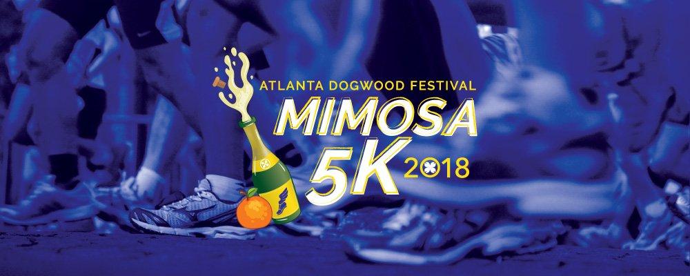 Atlanta Dogwood Festival Mimosa 5K 2018