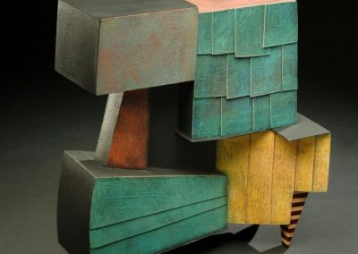 Larry Fox, 3D mixed media, Booth 59