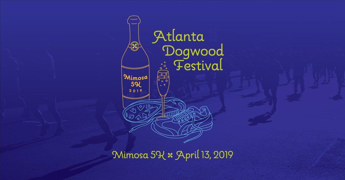 Atlanta Dogwood Festival Mimosa 5K 2019