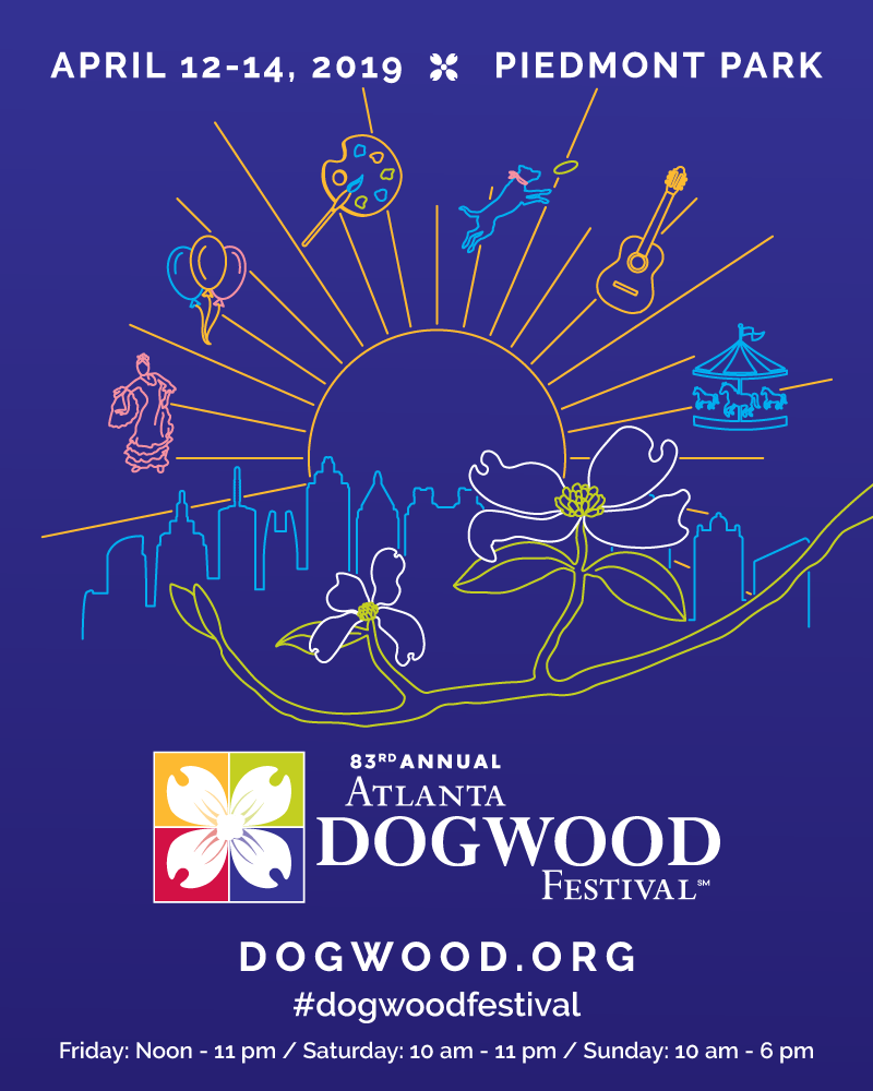 2019 Atlanta Dogwood Festival Map and Guide