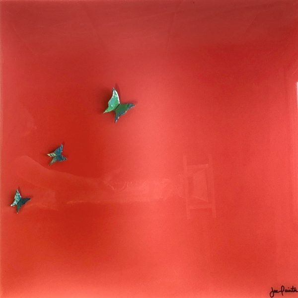 Watermelon Papillons - Jac Painter