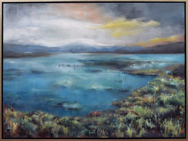 Blue Lagoon 36x48 - E. Edmeades