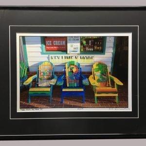 Happy Chairs; Key West, FL - R. C. Fulwiler