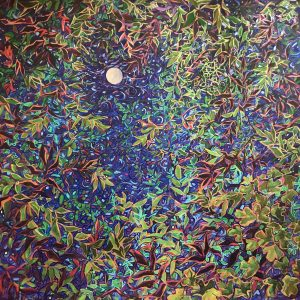 Moonlight and Leaves by Lydia Adele Randolph