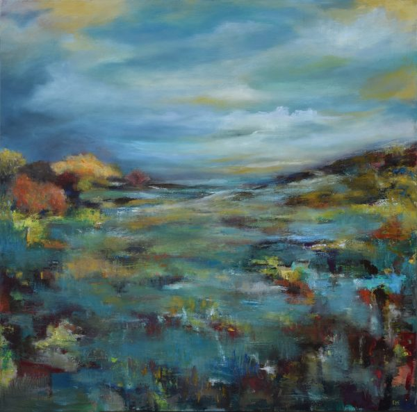 Sheltered Valley 48x48 - E. Edmeades