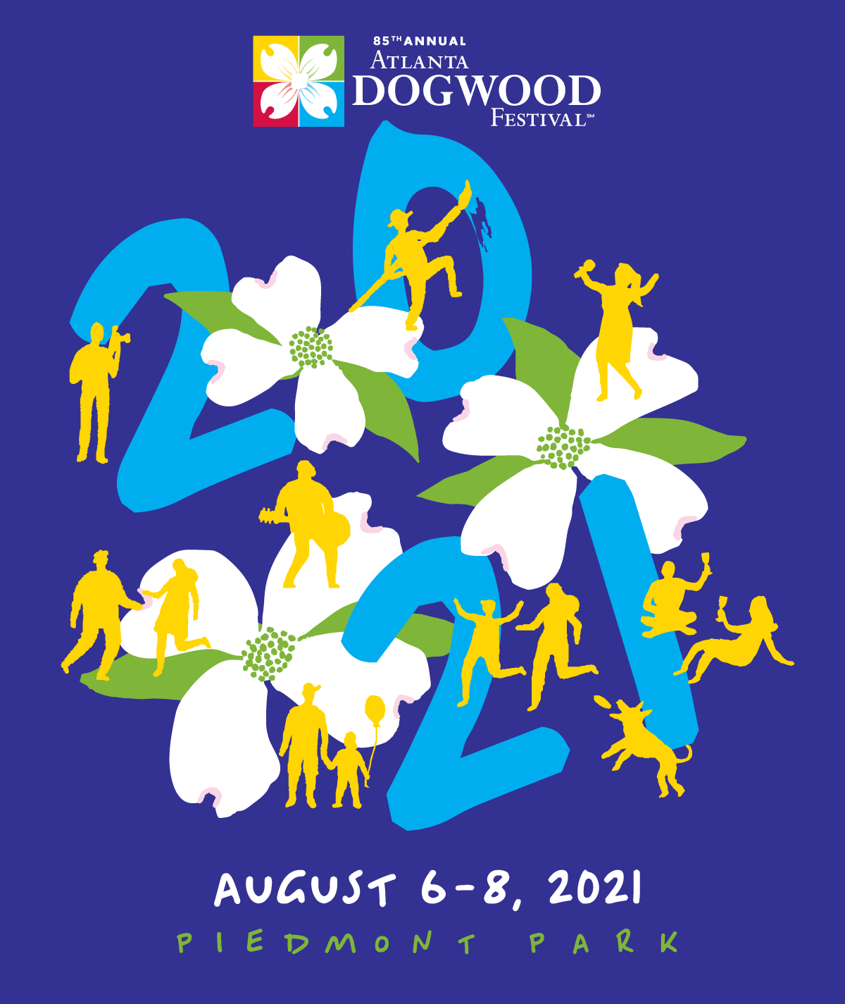 85th Annual Atlanta Dogwood Festival Program Guide