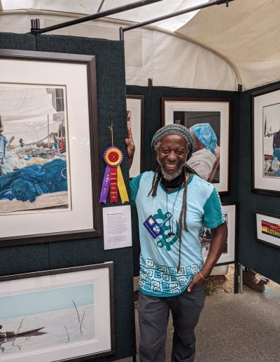 William Kwamena-Poh, Painting Watercolor/Pastel, Booth 99